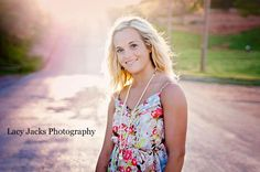 Backlight! Portraits. Senior Portraits