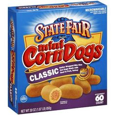 Mini Corn Dogs, Good Sources Of Protein, Classic Mini, Bite Size, Fruits And Veggies, Pop Tarts, Snacks, Walmart, Coupons