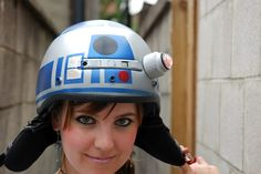 Clever Girl: This IS the Droid You're Looking For- R2D2 Helmet  <-- If I still rode a motorcycle, this would be the helmet for me...