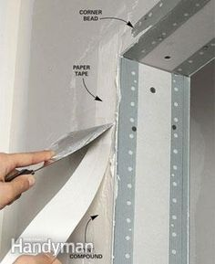 Follow these 12 pro drywall-taping tips to improve your skills, speed up the job and result in smoother walls. They include mixing, knife techniques and problems to avoid.