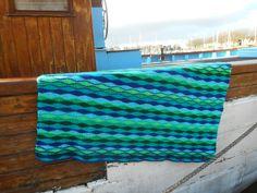 Chrochet Blanked - Wave stitch Atelier de Kleine Haven