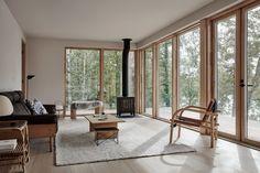 My Living Room, Living Area, Lakeside Cabin, Villa, Piece A Vivre, Scandinavian Living, Minimalist Scandinavian, Scandinavian Interior, Nordic Design