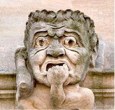 grotesque-mouth puller