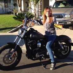 This is Me on my new Harley!