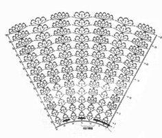 схема вязания юбочки