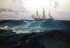 Christopher Blossom. Long Passage, Clippership CHALLENGE. J. Russell Jinishian Gallery, Inc.