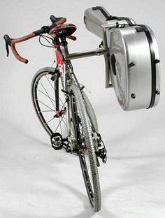 Guitar holder for your bike :)