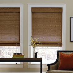 Real Simple® Natural Roman 72-Inch Length Shade The beautiful Real Simple Natural Roman Shade is made out of 100% bamboo and brings a rich ambience to any room. The shade features natural, woven wood, clean lines and a woven-edge banding that provides a customized look.