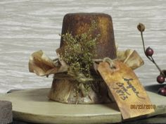 Real Sugar Cone Primitive Country Christmas, Primitive Crafts, Primitive Christmas, Candle Lanterns, Candle Wax, Candles, Christmas Ideas, Christmas Crafts, Craft Bazaar