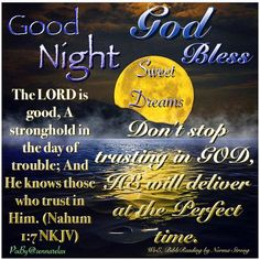 Good Night Prayer, Good Night Blessings, Good Night Quotes, Thankful Quotes, Bless The Lord, Good Morning Messages, Night Time, True Quotes, Bible Verses