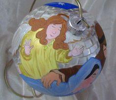 Bombka choinkowa- ręcznie malowana