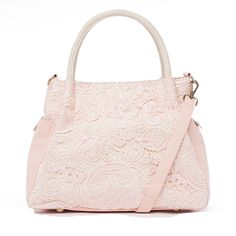 Nila Anthony Lace Tote Blush up to 70% off | Handbags | Little Black Bag