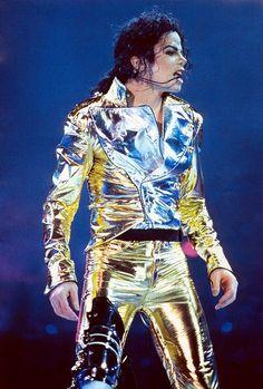 Gotta love his gold pants!!