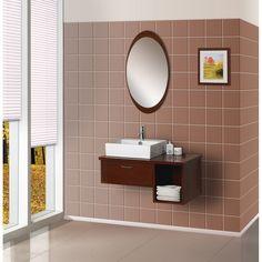Bathroom Mirror with Frame