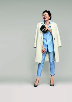 Cest la blogueuse mode ambassadrice du style à la française outre,Atlantique.