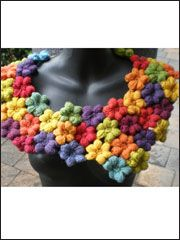 Thai Flower Collar - #RAC0386