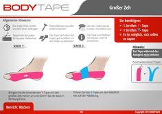 Zeh Tapen / Schritt-Für-Schritt Anleitung ✅ Kinesiologie Anleitungen Mehr entdecken: www.bodytape.net