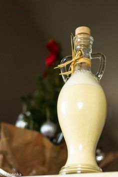 Homemade Eggnog.