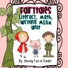 This GIANT Fairytale Themed unit will have the little ones in your classroom eager to learn and practice their literacy, math, and writing skills. ...