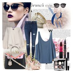 """""""Brunch with friends"""" by mila96h ❤ liked on Polyvore featuring rag & bone, Miss Selfridge, RVCA, Yves Saint Laurent, Chanel, MAC Cosmetics and brunch"""