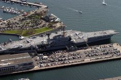 USS Midway in San Diego...this was soooo cool