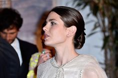 theirroyalhighnessespost:  Bal De La Rose for the Princess Grace Foundation in Monaco, March 19, 2016-Charlotte Casiraghi