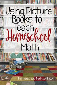 Since most young kids enjoy great books, reading stories that feature math topics helps kids see practical ways to use math in real life. Homeschool Curriculum Reviews, Homeschool Books, Homeschooling Resources, Real Life Math, Reading Stories, Math Concepts, Elementary Math, Fun Math, Kids Education