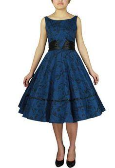 Dress With Satin Sash by Amber Middaugh -Save 37% at Chicstar.com Coupon: AMBER37