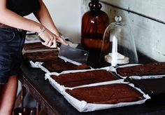 The Broadsheet Cookbook: Tomboy's Gluten–Free Chocolate Brownie - Food & Drink - Broadsheet Melbourne