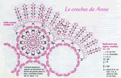 grille napperon assemblage de fleurs1