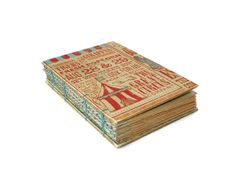 The Circus is in Town Journal by Thenibandquill on Etsy, $37.00