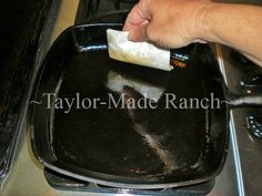 Cast Iron Cookware Will Last For Decades.  Proper Care Is Easy, But There Are Some Rules To Follow!  #TaylorMadeRanch