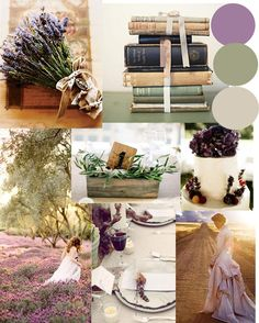 Lavender with Green - 12 Perfect Combinations for Fall Wedding Colors - EverAfterGuide