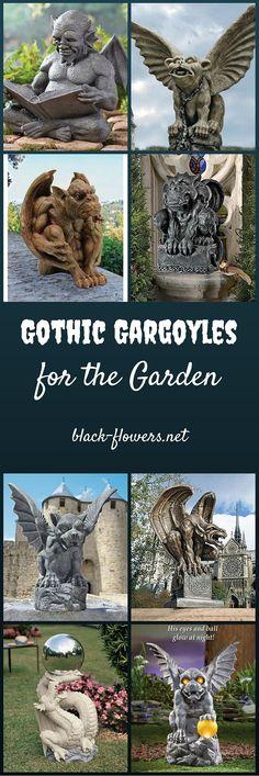 Gothic Gargoyles for the Garden