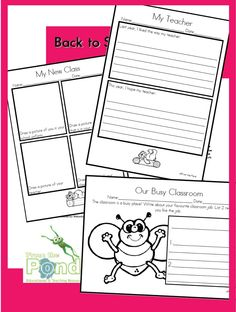 back to school worksheets primary school printables school worksheets for kids pinterest. Black Bedroom Furniture Sets. Home Design Ideas