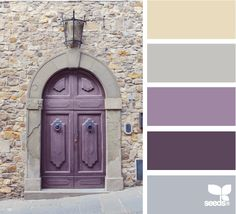 love this color combo. and the sandstone/cream to transition to the kitch.