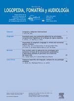 Revista de Logopedia, Foniatría y Audiología