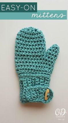 EASY-ON MITTENS FREE PATTERN Oombawka Design Crochet
