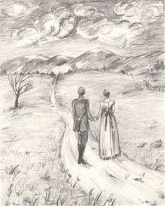 Art wIth lOve on Pinterest | Drawings Of Couples, Couple Drawings ...