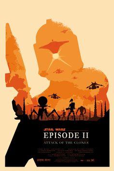 """Star Wars: Episode II - Attack of the Clones"" by ~Zenithuk on deviantART"