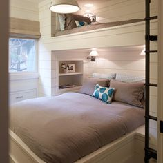 Built In Bunk Beds Love The Stairs Bunk Beds Twin