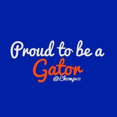 Proud to be a Gator! Fla Gators, Florida Gators College, Florida Gators Softball, Colleges In Florida, University Of Florida, Florida Girl, Florida Georgia, College Fun, College Football