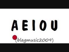 AEIOU Song - Slower Version for Learning - YouTube