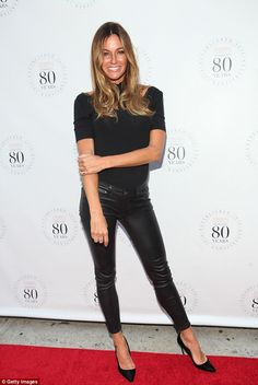 Hell for leather! Kelly Bensimon made sure her outfit delivered plenty of  that when she d0b87b80d