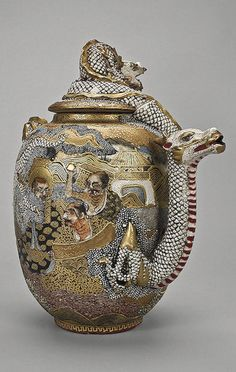 Teapot Japan, late 19th- early 20th century The Hermitage Museum