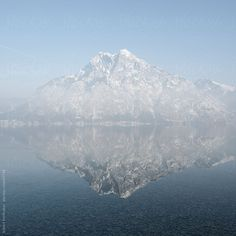 Traunstein mountain at the Traunsee lake in austria by Roob | Stocksy United