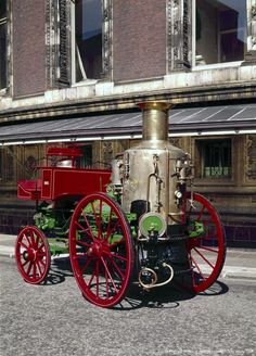 Image detail for -Sutherland steam fire engine, 1863.