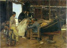 Joaquin Sorolla y Bastida (1863 – 1923, Spanish)    The Happy Day