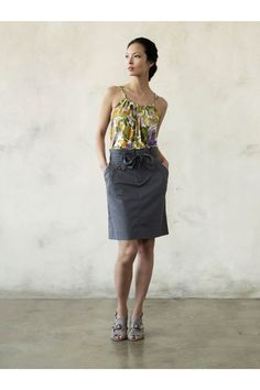 Drive-In: This Anthro look makes me reconsider the paper bag waist...