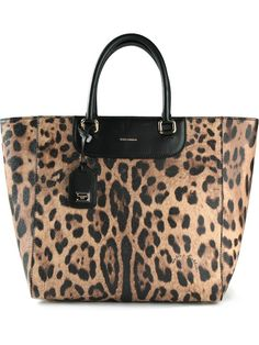 Dolce And Gabbana Black/brown Leopard Print Leather Lucia Shopper Tote Brown Leather Satchel, Black Leather Handbags, Leather Purses, Purses For Sale, Purses And Bags, Leopard Tote, Dolce And Gabbana Handbags, Brown Leopard, Brown Purses